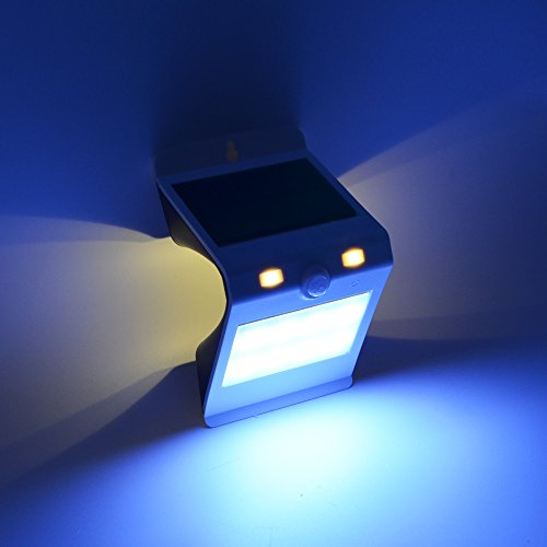 Equinox international dual mode 12 led motion sensor solar wall previous next aloadofball Choice Image